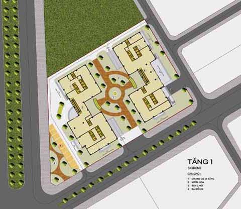 qh20100112da21 Tổng quan và quy mô chung cư AZ Vân Canh