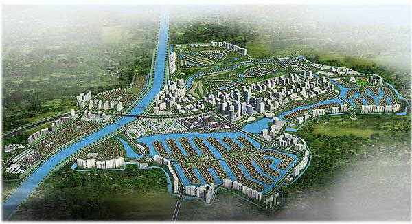 Khu đô thị sinh thái Ecopark (1)