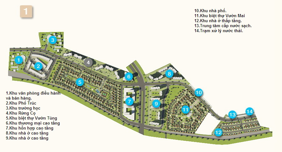 Khu đô thị sinh thái Ecopark (14)