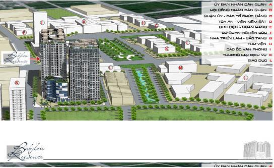 TPB2 Tổng quan và quy mô khu căn hộ Babylon Residence I
