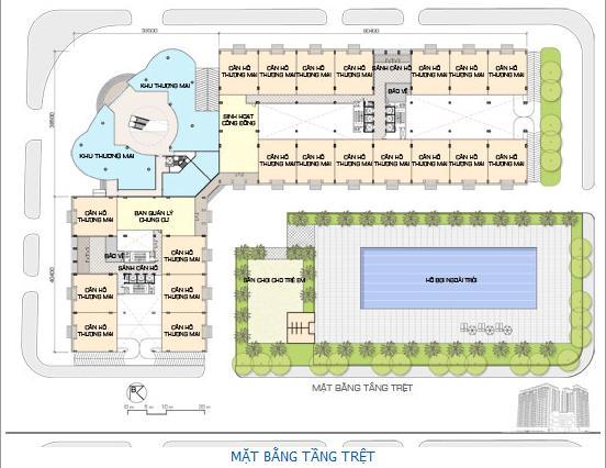 TPB5 Tổng quan và quy mô khu căn hộ Babylon Residence I