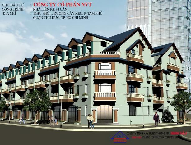 lk2 Tổng quan và quy mô khu căn hộ Babylon Residence I