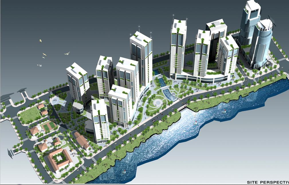 Tổng quan và quy mô khu tổ hợp cao ốc Đại Quang