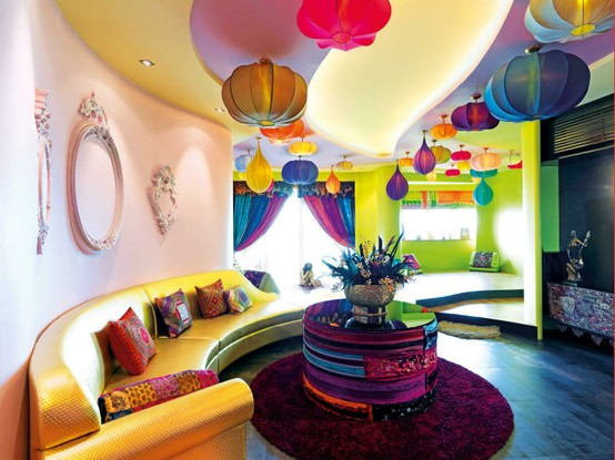 Bright And Happy Living Room