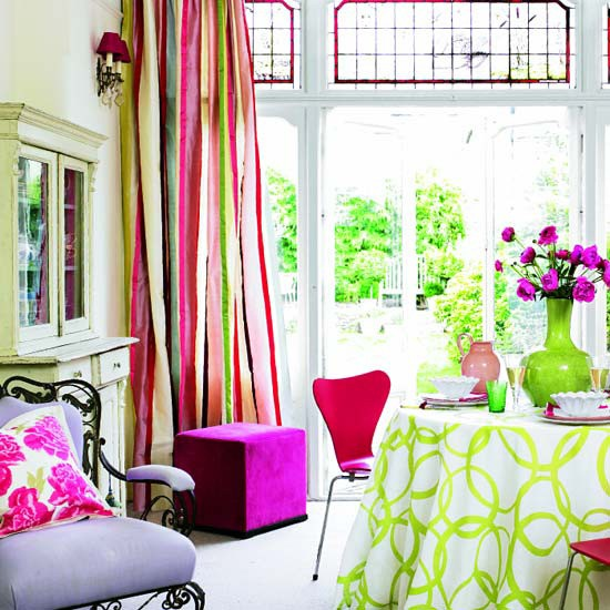 Bright And Cheerful Living Room