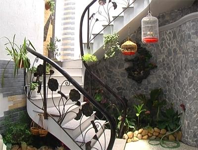 Lựa chọn tiểu cảnh phù hợp cho từng loại gầm cầu thang khác nhau