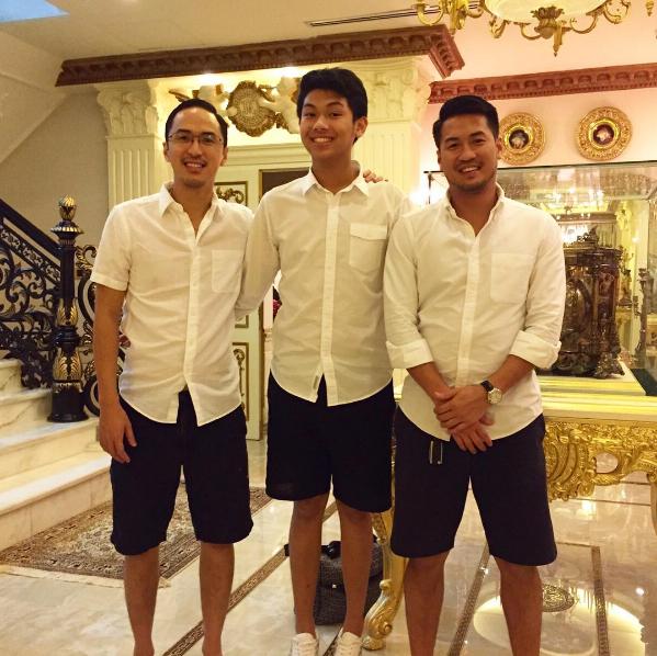 Louis Nguyễn, Hiếu Nguyễn và Phillip Nguyễn