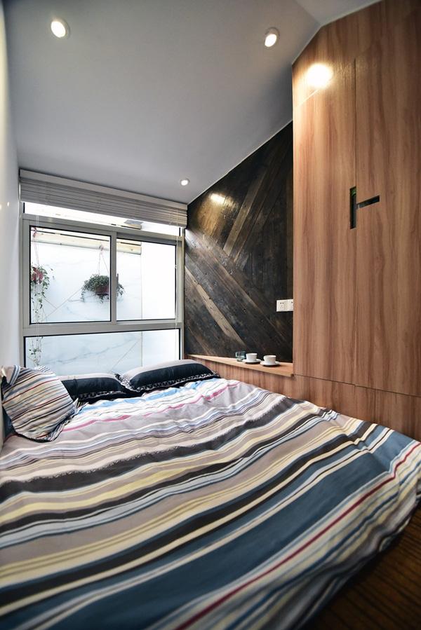 Một phòng ngủ khác có chung cách thiết kế.