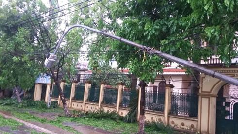Thiệt hại ban đầu tại Thái Bình