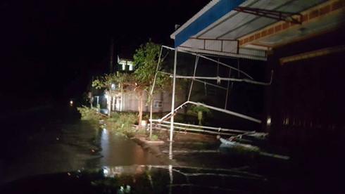 Mưa bão ở Nam Định