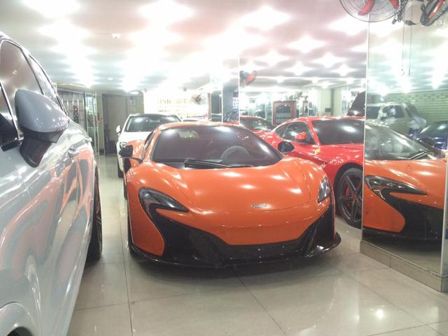McLaren 650S Spider thứ 3 tại thị trường Việt Nam với bộ áo màu cam.Ảnh: Hiếu Nghĩa-Huracan.