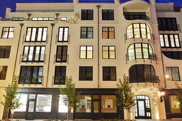 Địa chỉ 1645 Pacific Avenue tọa lạc nguy nga ở San Francisco