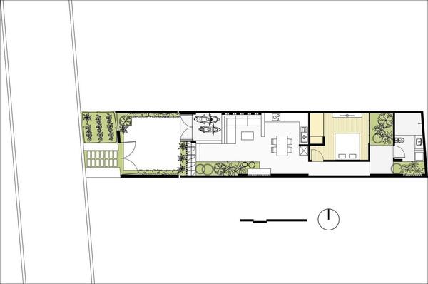 Sơ đồ thiết kế ngôi nhà.