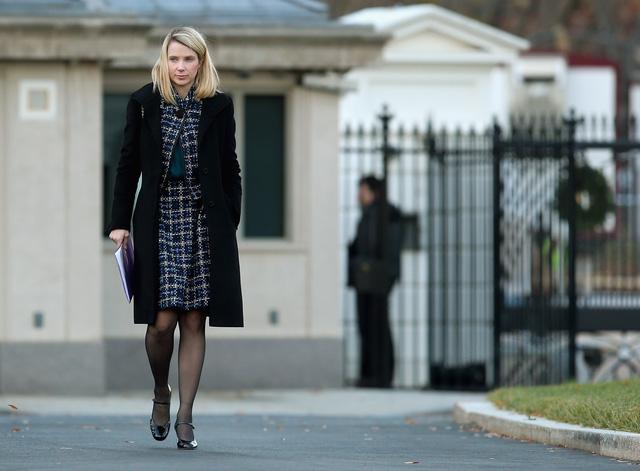 Nữ CEO Marissa Mayer sẽ tiếp tục ở lại và vẫn còn nhiều việc để làm.