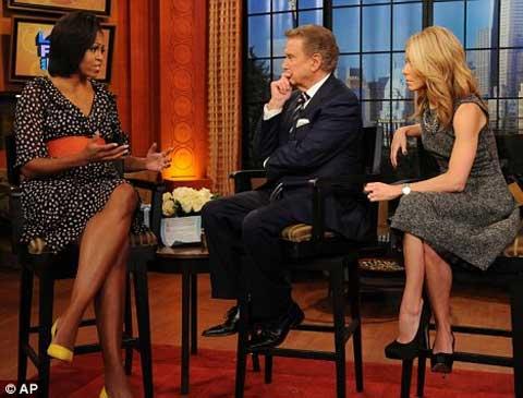 Bà Obama mặc chiếc váy H&M với giá chỉ 34,95 USD.
