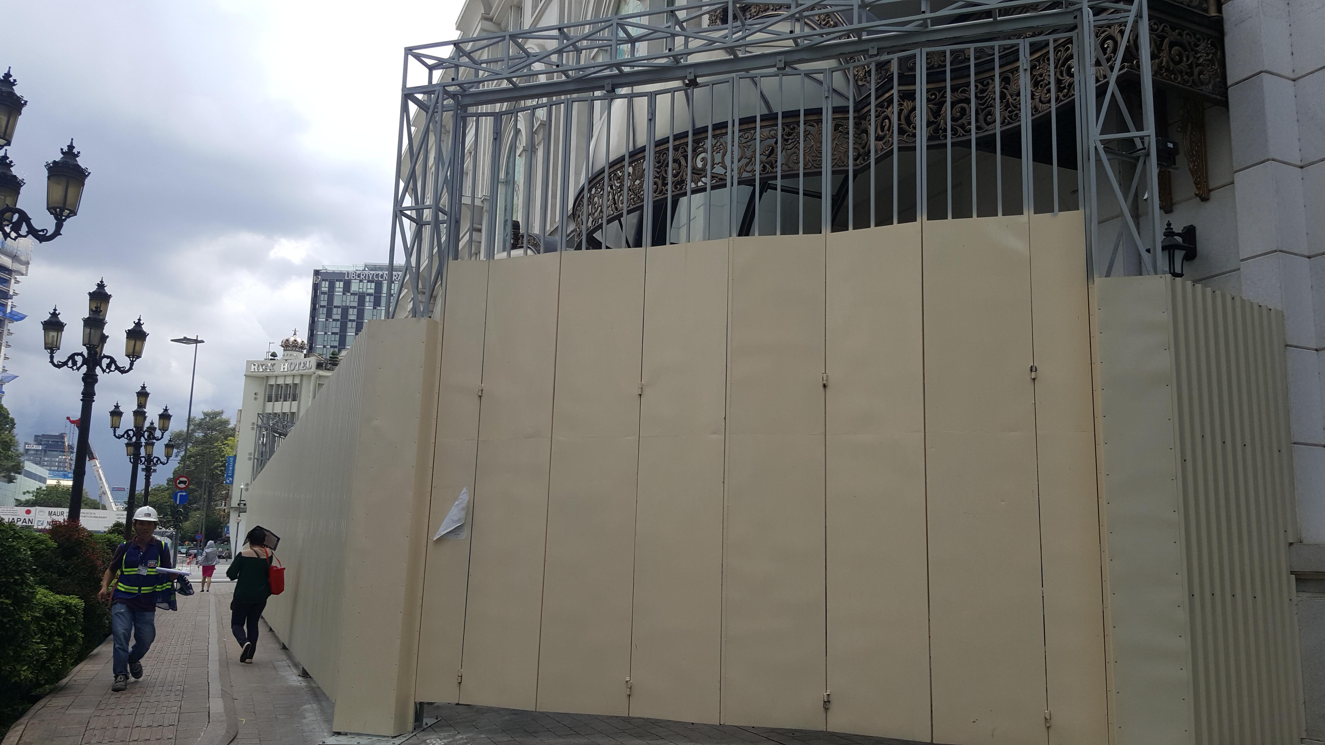 Một phần Union Squera đóng cửa để đầu tư nâng cấp thành khách sạn sang trọng bậc nhất TPHCM
