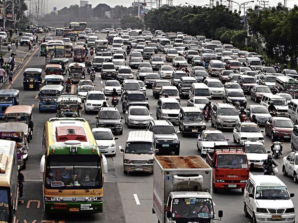 Trung bình mỗi ngày, thủ đô của Philippines tắc đường từ 3 tới 4 giờ