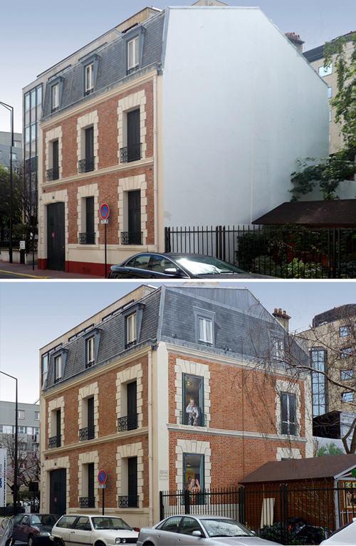 cannhaxauxibongtronentuyetdepbangvainetve Khám phá căn nhà xấu xí bỗng trở nên tuyệt đẹp bằng vài nét vẽ
