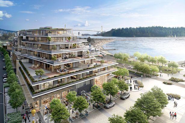Dự án Grosvenor Ambleside tại Vancouverbao gồm 98 căn hộ độc đáo mang đậm nét kiến trúc, nghệ thuật và văn hóa.