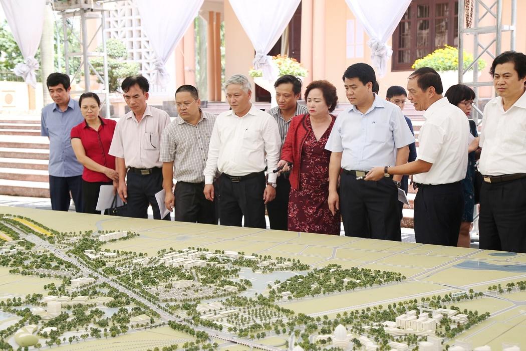 Công ty TNHH Motor.NA, một công ty thành viên của Tập đoàn BRG BRG đã được thành phố Hà Nội giao làm chủ đầu tư, tự ứng vốn và mời tư vấn nước ngoài phối hợp với Viện Quy hoạch Xây dựng Hà Nội lập Quy hoạch chi tiết xây dựng hai bên tuyến đường Nhật Tân – Nội Bài (thành phố Hà Nội) vào tháng 7 năm 2011.