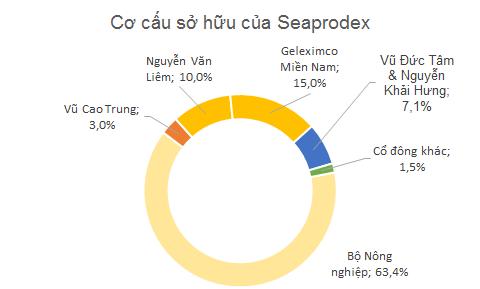 Cơ cấu sở hữu của Seaprodex hiện tại