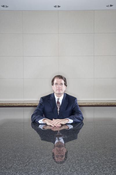 CEO Beal Bank - Andy Beal. Ảnh: Matthew Mahon/Redux.