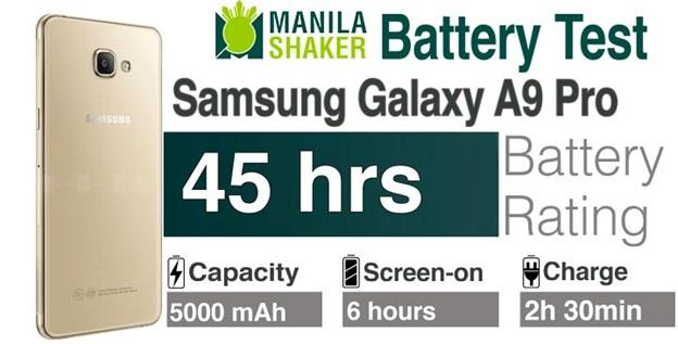 Thời lượng sử dụng pin hỗn hợp lên đến 45 tiếng cực kì ấn tượng