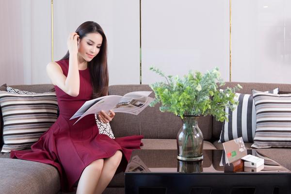 Căn hộ Phạm Hương đang muốn sở hữu có sẽ thiết kế sang trọng với không gian thoáng đãng, tràn ngập nắng gió.