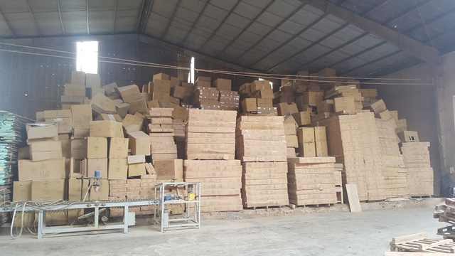 Lô hàng gỗ của nhà cung cấp chưa được Công ty Global Home thừa nhận