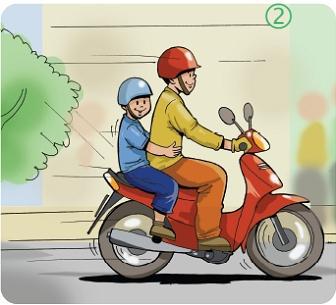 Xe máy vẫn là phương tiện chủ yếu của người dân ở đô thị, tỉnh và miền núi.