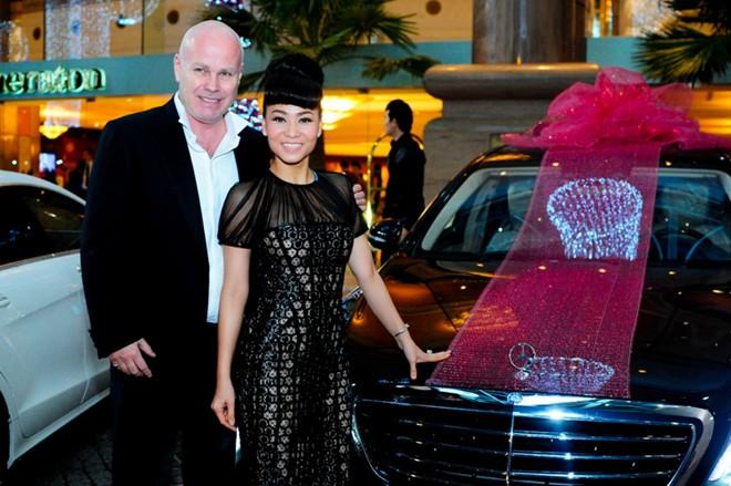 Chiếc xế hộp 7 tỷ chồng đại gia tặng Thu Minh