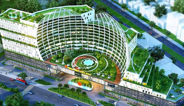 Phối cảnh dự án khách sạn Yên Bái của Hoa Sen
