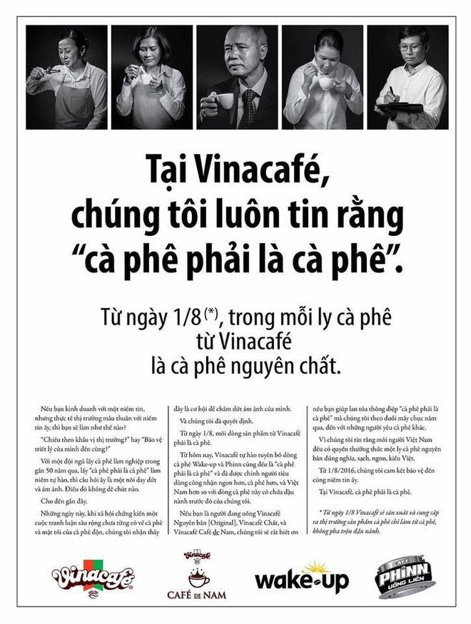 Thông điệp nguyên chất của Vinacafé được cư dân mạng đem ra chế nhiều, gián tiếp tạo hiệu ứng lan truyền cho thương hiệu này.