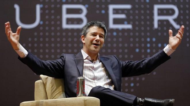 Travis Kalanick là người đồng sáng lập ra Uber. Ảnh: Reuters