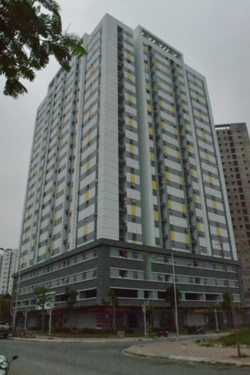 Dự án NƠXH Rice City ở Tây Nam Linh Đàm lùm xùm trong việc bán nhà chưa đúng đối tượng.