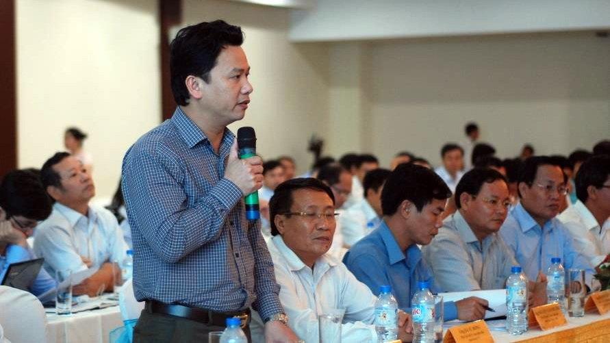 Ông Đặng Quốc Khánh - chủ tịch UBND tỉnh Hà Tĩnh - Ảnh: Q.Nam