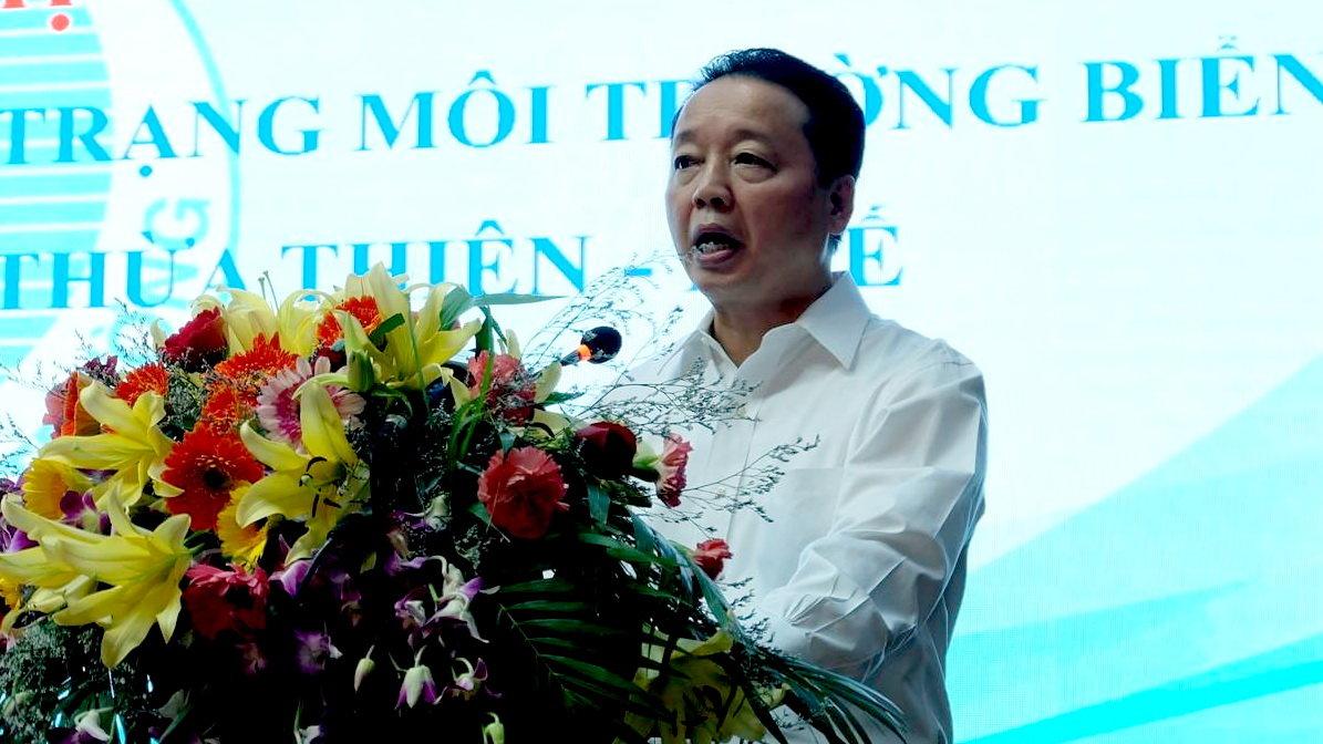 Bộ trưởng Bộ TN-MT Trần Hồng Hà - Ảnh: Xuân Long
