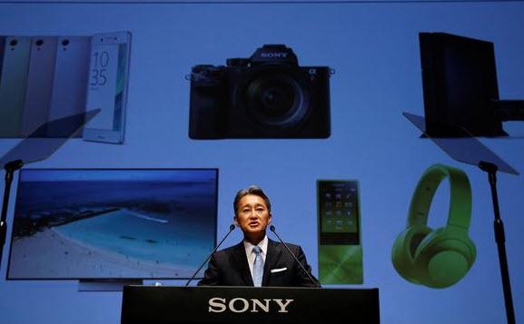 CEO Sony giải thích về chiến lược kinh doanh của công ty trong một sự kiện hồi tháng 6 (Nguồn: Reuters)