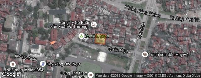Vị trí chung cư cao tầng 134. Nguồn wikimapia.org.