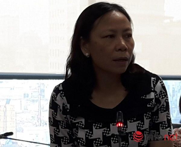 Bà Lê Thị Duyên Hải, Vụ trưởng Vụ Kê khai và Kế toán thuế (Tổng cục Thuế)