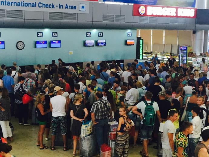 Nhà ga hành khách CHK quốc tế Cam Ranh đã quá tải gần 30% so với công suất thiết kế từ năm 2014
