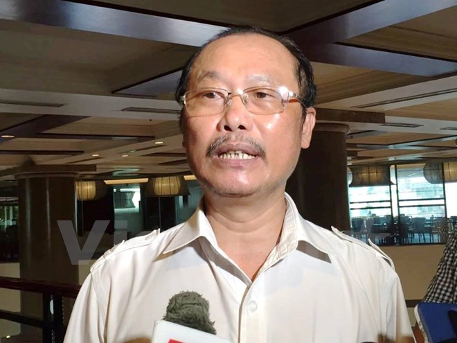 Phó Cục trưởng Cục Chăn nuôi Nguyễn Văn Trọng cho biết, xuất khẩu lợn sang Trung Quốc hiện nay vẫn bằng con đường tiểu ngạch. (Ảnh: PV/Vietnam+)