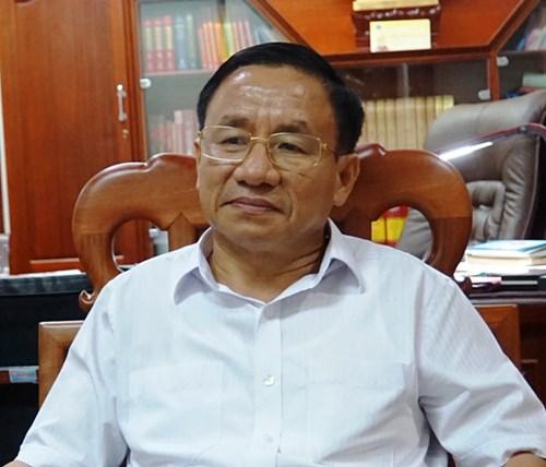 Bí thư Tỉnh ủy Hà Tĩnh Lê Đình Sơn.