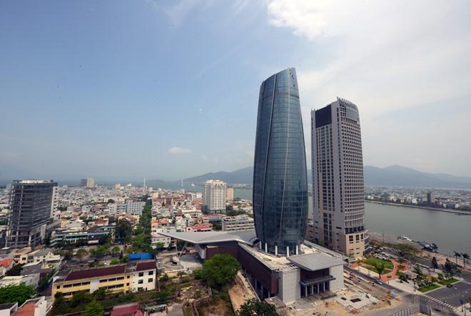 Tòa nhà Trung tâm hành chính Đà Nẵng. Ảnh: Nguyên Vũ.