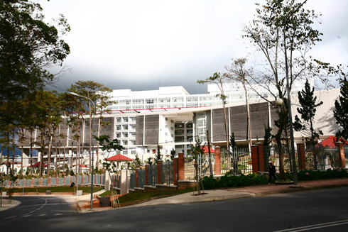Trung tâm hành chính tỉnh Lâm Đồng. Ảnh: Hà Thành