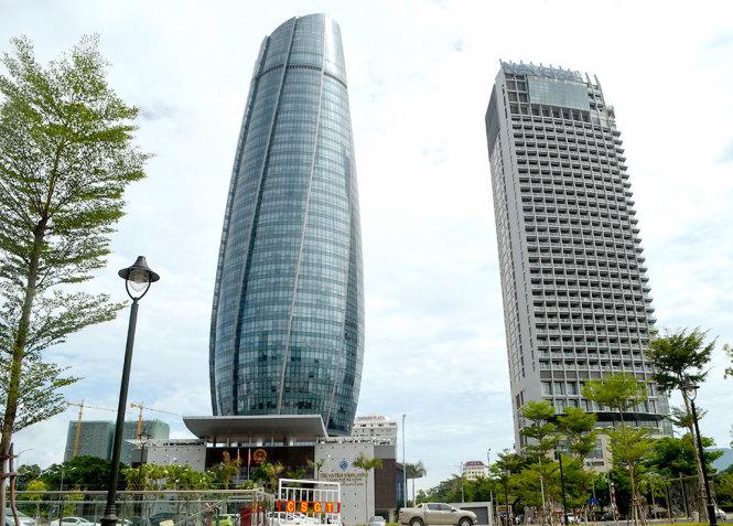 Tòa nhà trung tâm hành chính TP Đà Nẵng - Ảnh: TẤN LỰC