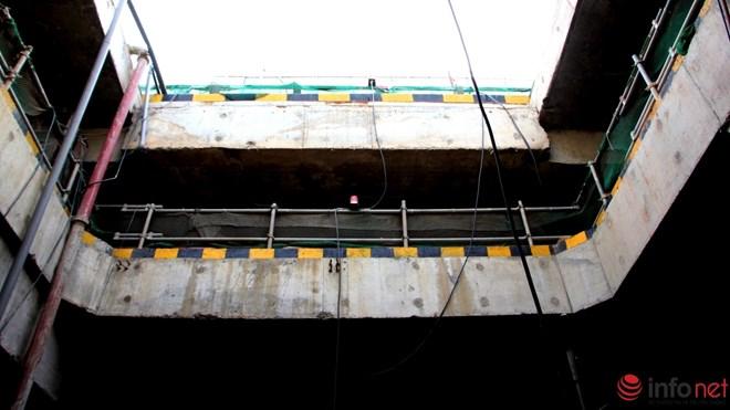Nhà ga này có chiều dài 190m, rộng 26m, sâu 40m được chia làm 4 tầng. Ngoài đón trả khách nơi này sẽ có cả các gian hàng giống như một trung tâm thương mại.