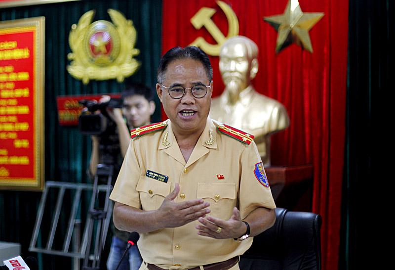 Đại tá Đào Vịnh Thắng. Ảnh: Phạm Hải