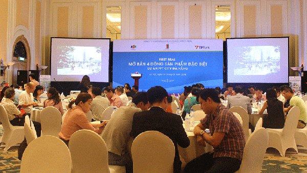 Một dự án tại Đà Nẵng được mang ra chào bán cho khách hàng tại Hà Nội.