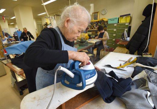 Người già ở Nhật luôn tự chủ.